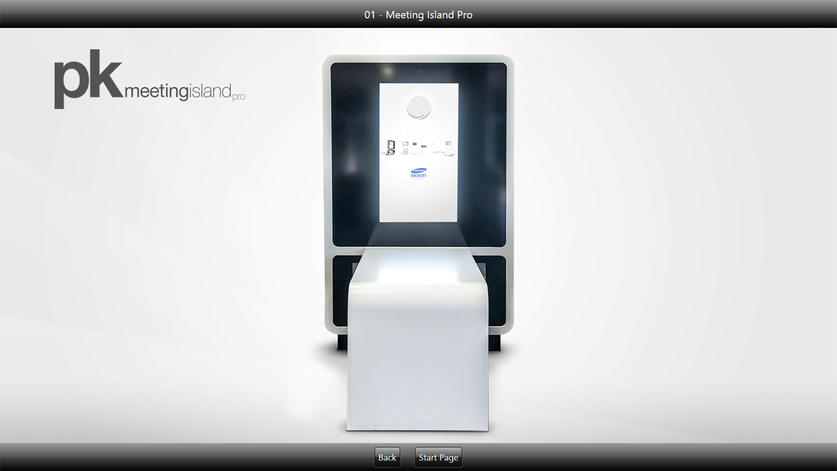 Präsentationssoftware Frontface