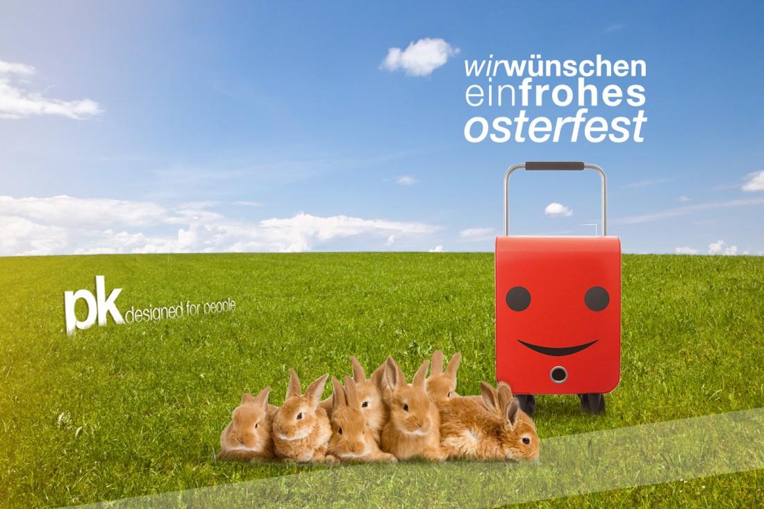 Wir wünschen Ihnen ein frohes Osterfest